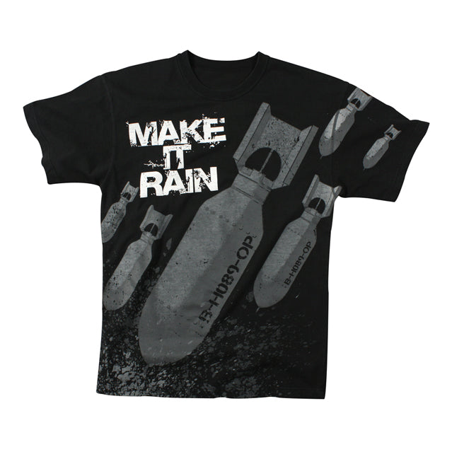 Make it Rain Bomber T-Shirt