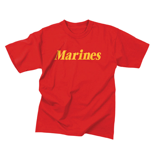 U.S. Marines T-Shirt, Red