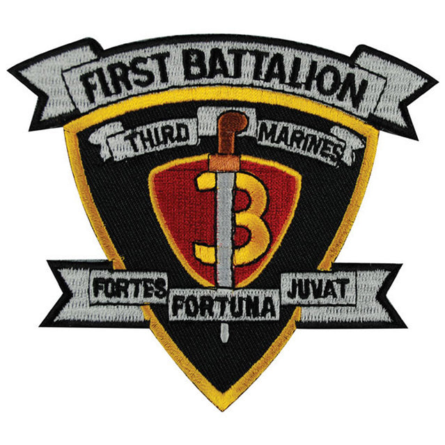 1st Battalion 3rd Marines Unit Patch