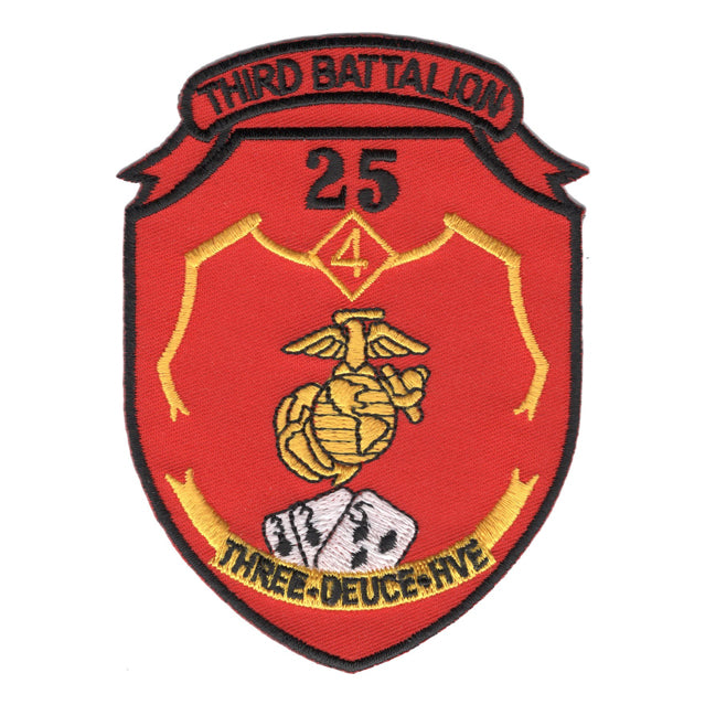 3rd Battalion 25th Marines 3/25 Patch