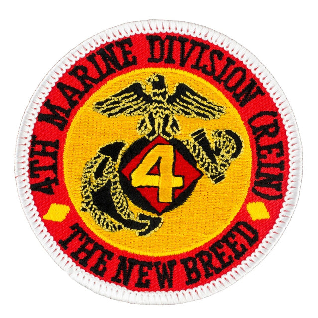 4th Marine Division The New Breed Patch