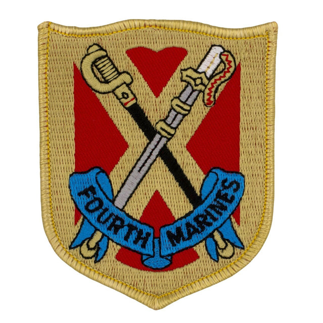 4th Marine Regiment Patch