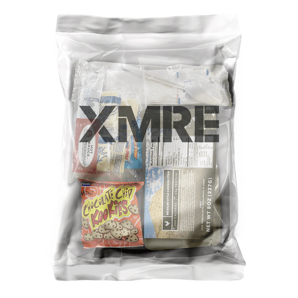 X-MRE Meal Ready To Eat Lite, Individual