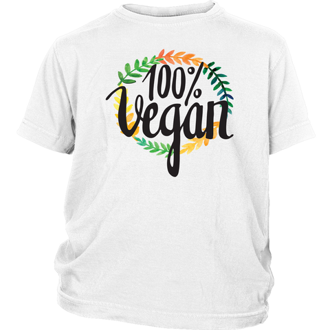 Kid's 100% Vegan T-Shirt - The Jack of All Trends