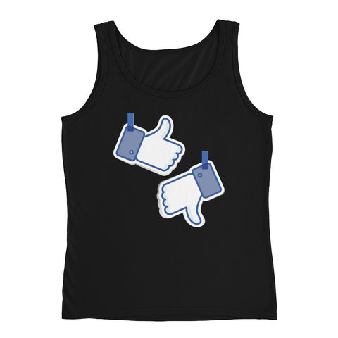 Like/Dislike Ladies' Tank - The Jack of All Trends