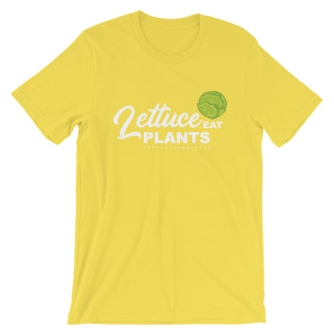 Lettuce Eat Plants Men's Short-Sleeve T-Shirt - The Jack of All Trends