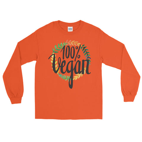 Men's 100% Vegan Long Sleeve T-Shirt - The Jack of All Trends