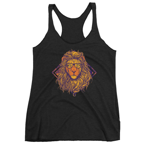 Swag King Lion Women's Racerback Tank - The Jack of All Trends