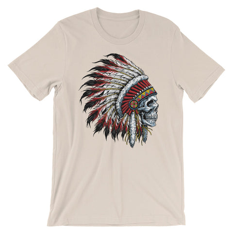 Chief Skull Men's Short-Sleeve T-Shirt - The Jack of All Trends