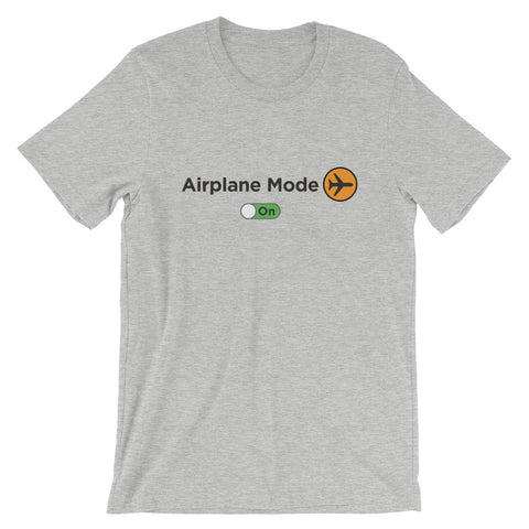 Airplane Mode On Men's T-Shirt - The Jack of All Trends