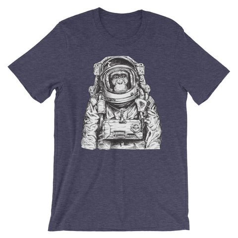 Astronaut Chimp Short-Sleeve Men's T-Shirt - The Jack of All Trends