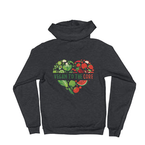 Women's Vegan To The Core Hoodie - The Jack of All Trends