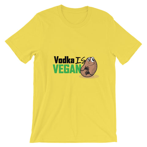 Men's Vodka Is Vegan Short-Sleeve T-Shirt - The Jack of All Trends