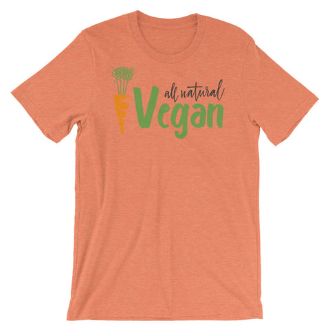 All Natural Vegan Short-Sleeve Unisex T-Shirt - The Jack of All Trends