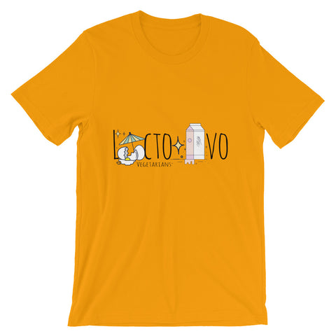 LACTO-OVO Short-Sleeve Unisex T-Shirt - The Jack of All Trends