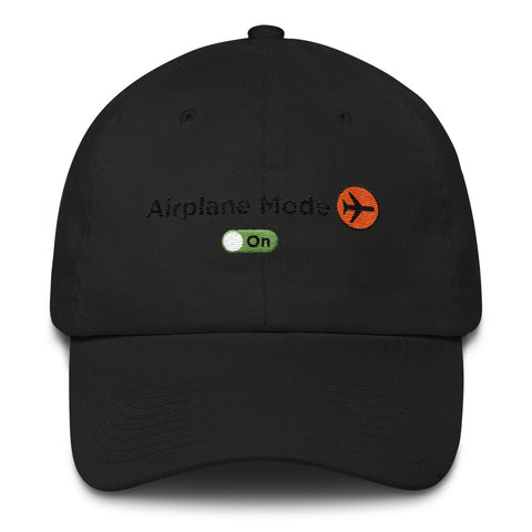 Airplane Mode Dad Hat - The Jack of All Trends