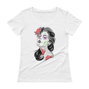 The Dead of the Dead Women's Scoopneck T-Shirt - The Jack of All Trends