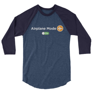 Airplane Mode On Women's Raglan T-Shirt - The Jack of All Trends