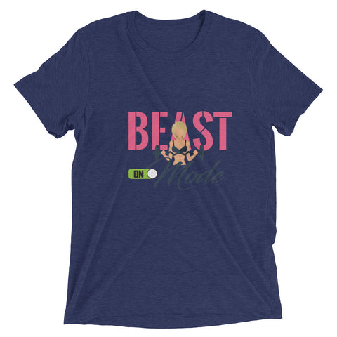 Beast Mode On Women's Short sleeve t-shirt - The Jack of All Trends