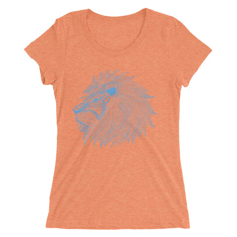 Lion Ladies' short sleeve t-shirt - The Jack of All Trends