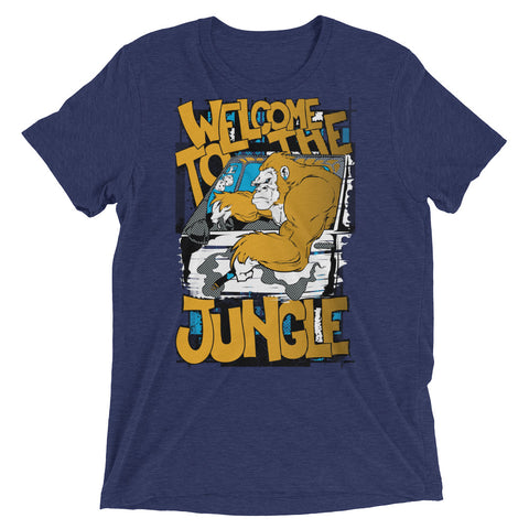 Men's Welcome To The Jungle Short Sleeve T-shirt - The Jack of All Trends