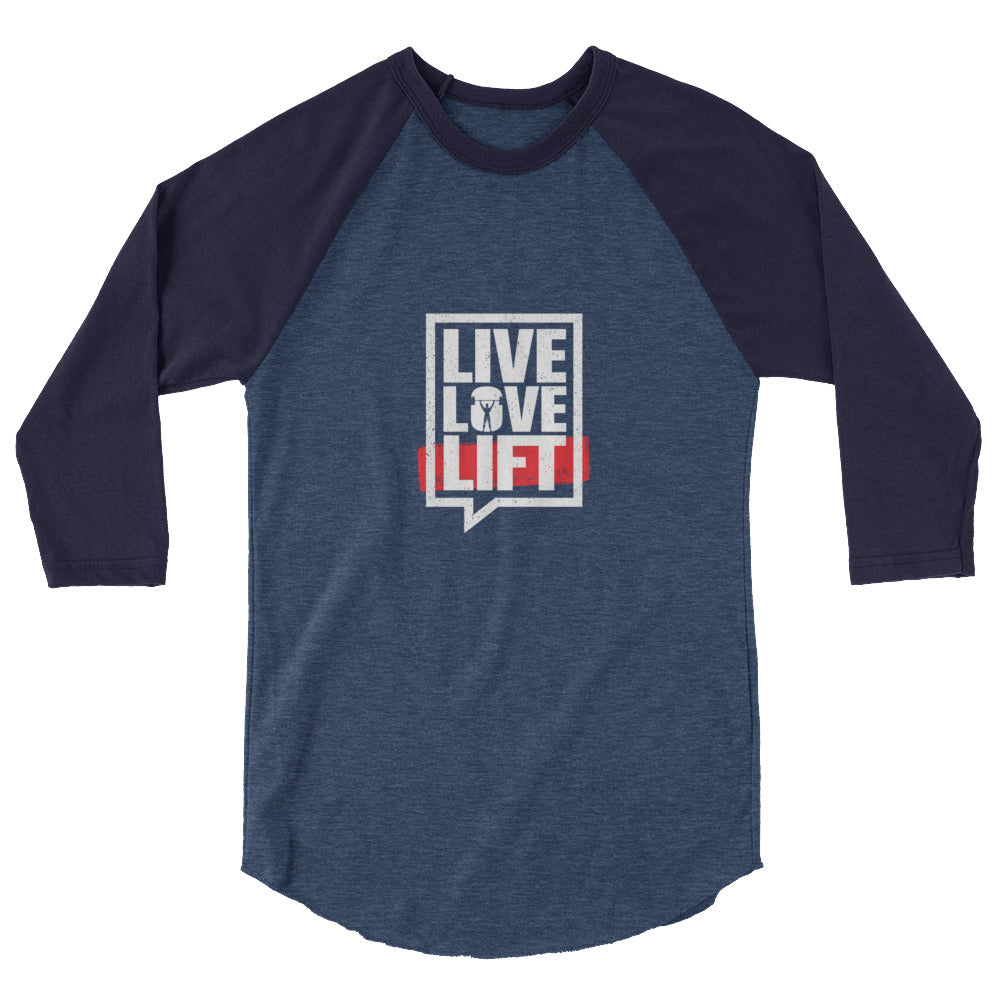 Body Builders Love Live Lift Raglan Shirt - The Jack of All Trends