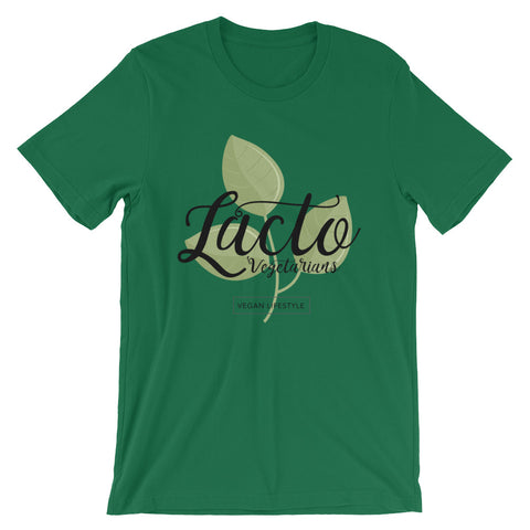 Lacto-Vegetarians Short-Sleeve Unisex T-Shirt - The Jack of All Trends