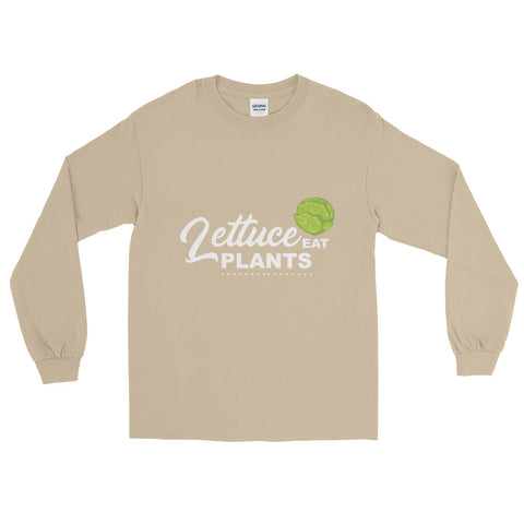 Lettuce Eat Plants Men's Long Sleeve T-Shirt - The Jack of All Trends