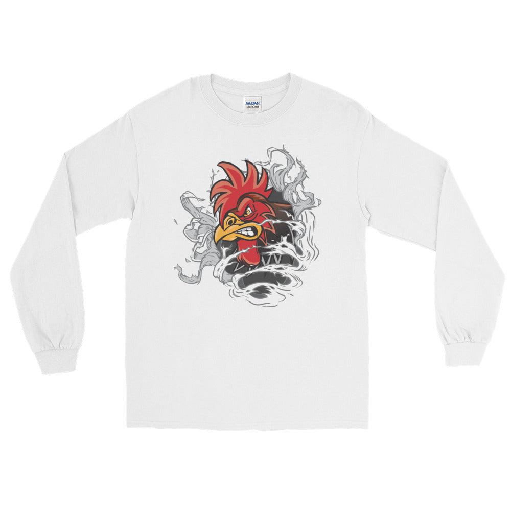 Master Rooster Long Sleeve T-Shirt - The Jack of All Trends