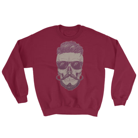 Cool Guy Skull Men's Sweatshirt - The Jack of All Trends