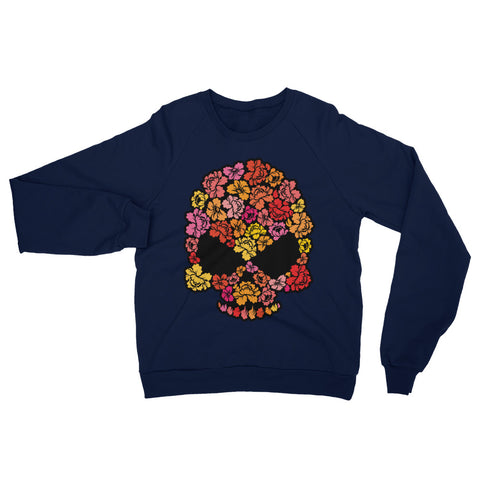 Floral Skull Men's Sweatshirt - The Jack of All Trends