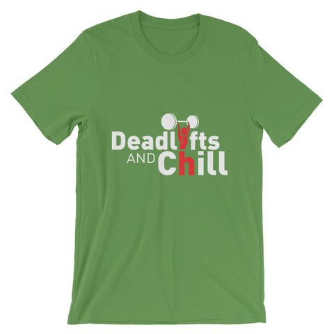 Deadlifts & Chill Men's T-Shirt - The Jack of All Trends