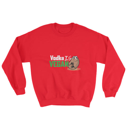 Men's Vodka is Vegan Sweatshirt - The Jack of All Trends