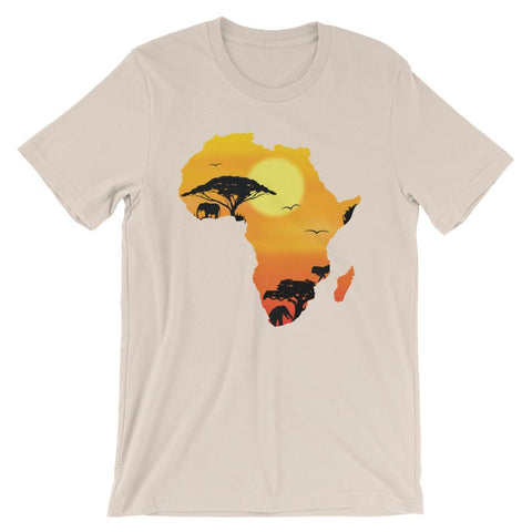 African Continent Men's T-Shirt - The Jack of All Trends