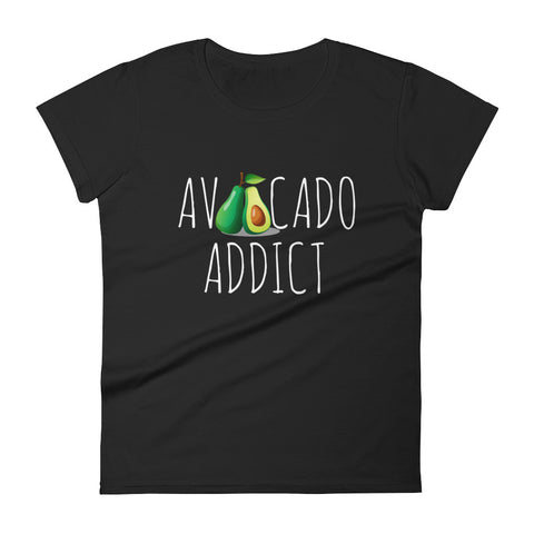 Avocado Addict Women's short sleeve t-shirt - The Jack of All Trends