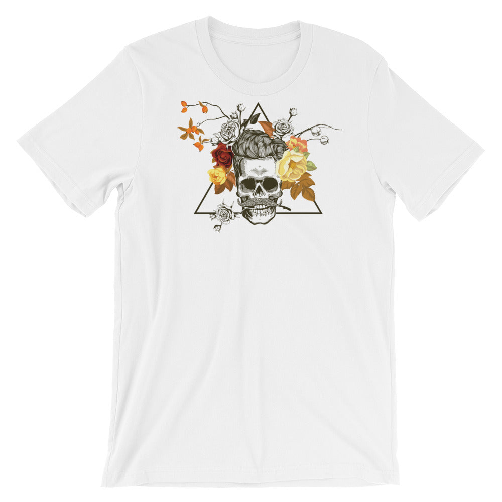 Flower Pot Skull Men's T-Shirt - The Jack of All Trends
