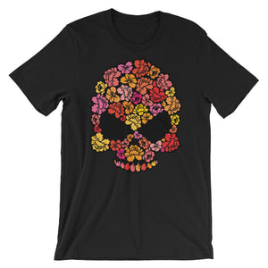 Floral Skull Short-Sleeve Men's T-Shirt - The Jack of All Trends