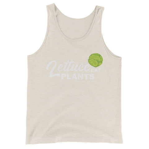 Lettuce Eat Kale Men's Tank Top - The Jack of All Trends