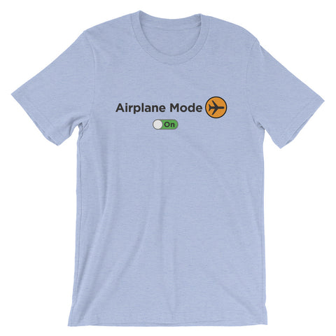 Airplane Mode On Women's Short-Sleeve T-Shirt - The Jack of All Trends