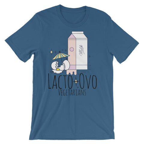 I am Lacto-Ovo Short-Sleeve Unisex T-Shirt - The Jack of All Trends