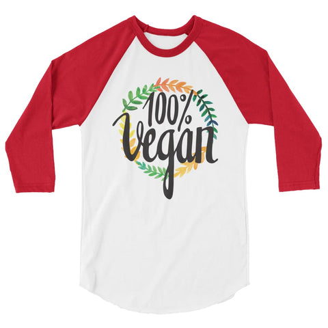 Women's 100% Vegan Raglan Shirt - The Jack of All Trends