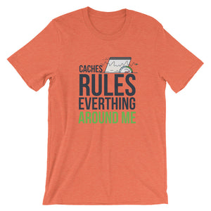 Cache Rules Short-Sleeve Men's T-Shirt - The Jack of All Trends