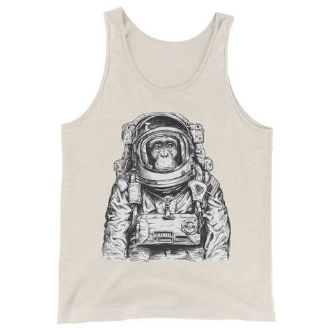Astronaut Chimp Men's Tank Top - The Jack of All Trends