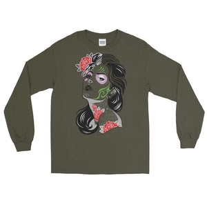 The day of the Dead Men's Long Sleeve T-Shirt - The Jack of All Trends