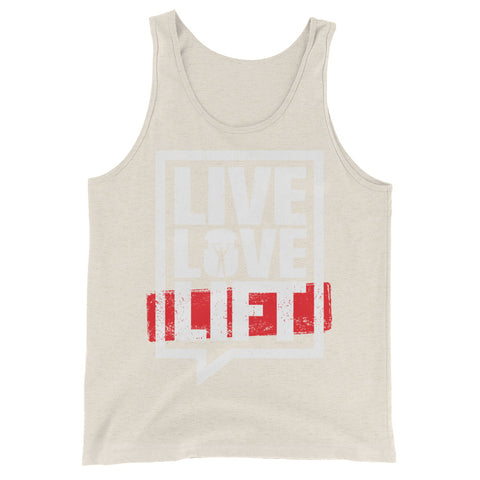 Body Builder's Live, Love, Lift Men's Tank Top - The Jack of All Trends