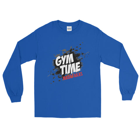 Gym Time Madafakas Long Sleeve T-Shirt - The Jack of All Trends