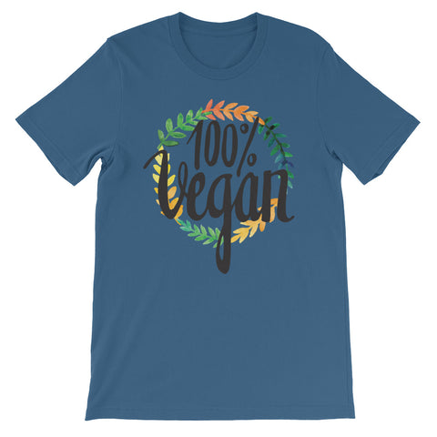 Men's 100% Vegan Short-Sleeve T-Shirt - The Jack of All Trends