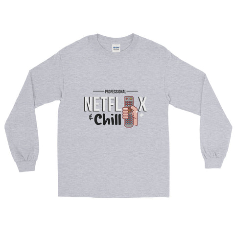 Netflix & Chill Long Sleeve T-Shirt - The Jack of All Trends