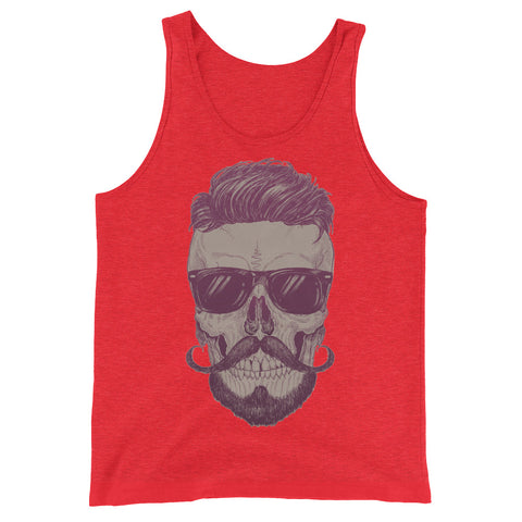 Cool Guy Skull Men's Tank top - The Jack of All Trends