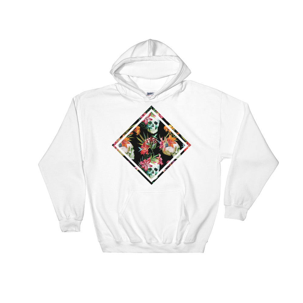 Skull Meeting Men's Hooded Sweatshirt - The Jack of All Trends
